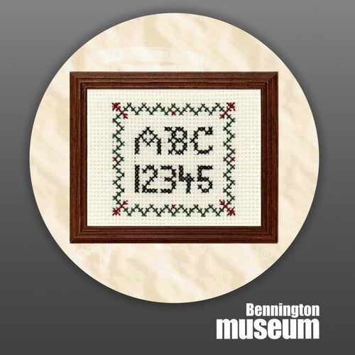 Historic Folk Toys: Craft, 'Mini Cross Stitch Sampler'