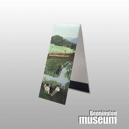 Grandma Moses: Magnetic Bookmark, 'Hoosick River Summer'