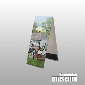 Grandma Moses: Magnetic Bookmark, 'Moving Day on the Farm'