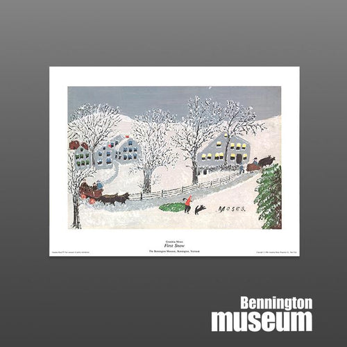 Grandma Moses: Unframed Print, 'First Snow'