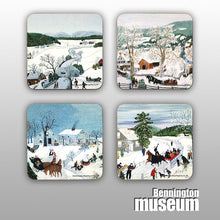 Grandma Moses: Coaster, 'Winter (4/Set)'