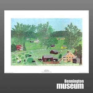 Grandma Moses: Unframed Print, 'Haying Time'