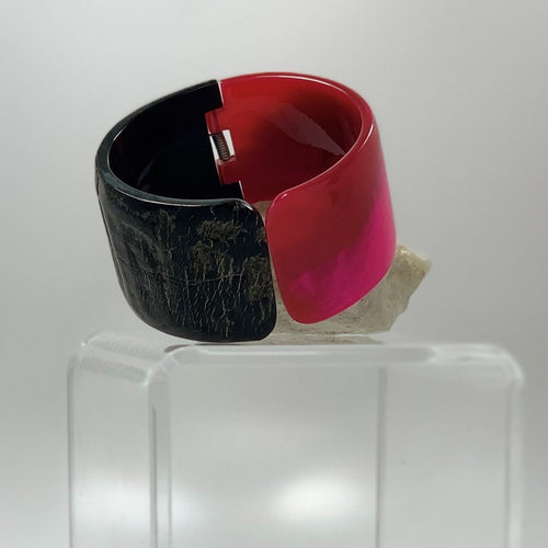 BELART: Bracelet; Up-Cycled Horn, Colored