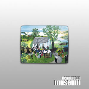 Grandma Moses: Magnet, 'Moving Day on the Farm'