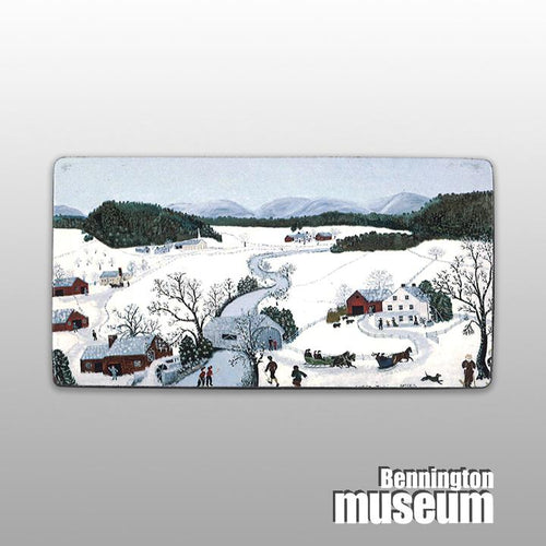 Grandma Moses: Magnet, 'Over the River'