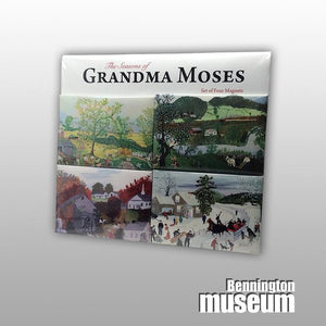 Grandma Moses: Magnet, 'Seasons (4/Set)'