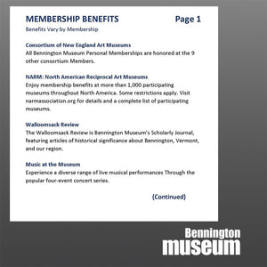 Support Us: Personal Membership, 'Sustaining'