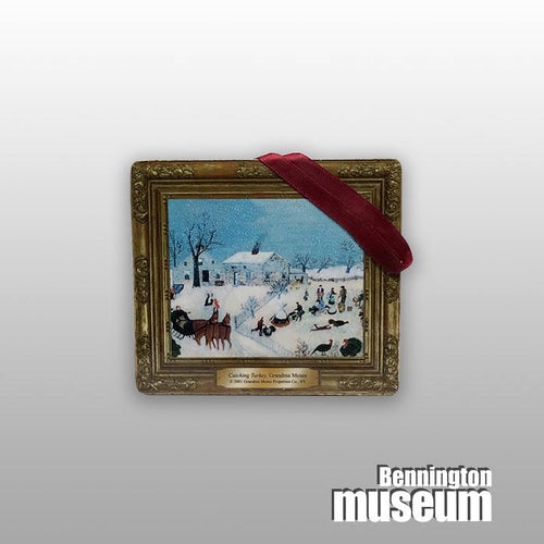 Grandma Moses: Ornament, 'Catching the Turkey'