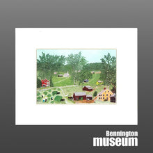 Grandma Moses: Matted Print, 'Haying Time'