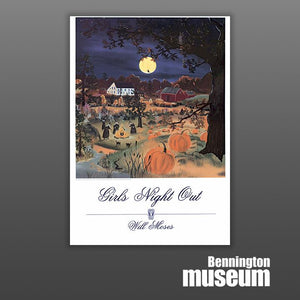 Will Moses: Poster, 'Girls Night Out'