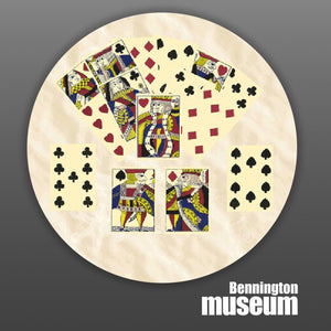 Historic Folk Toys: Game, 'Early American Playing Cards'