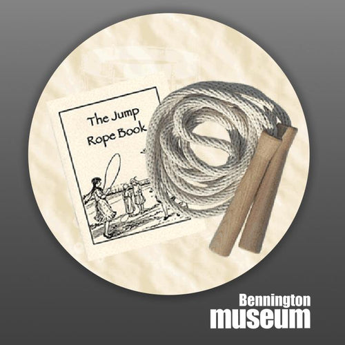 Historic Folk Toys: Game, 'Jump Rope Set with Book'
