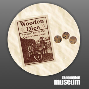 Historic Folk Toys: Game, 'Wooden Dice'
