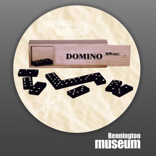 Historic Folk Toys: Game, 'Wooden Dominoes'