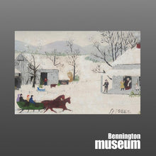 Grandma Moses: Postcard, 'Thanks Given Day'