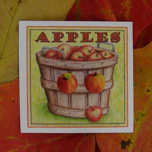 "WrenHouse: Earrings, ""Apple"""