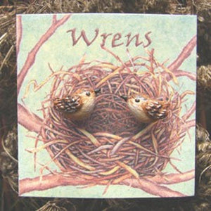 "WrenHouse: Earrings, ""Wren"""