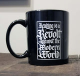 """Reading is a Revolt"" Mug"