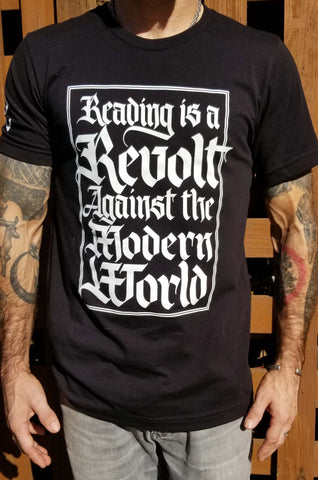 Reading is a Revolt Tee