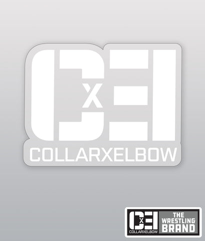 Transparent CXE sticker