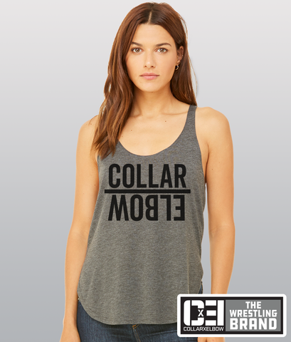 Mirror - Ladies side split tank