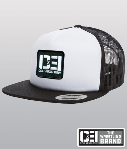 Trucker Hat - White & Black
