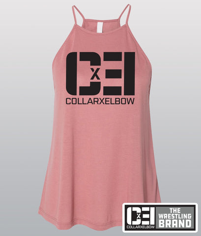 Logo - Ladies High Neck Tank
