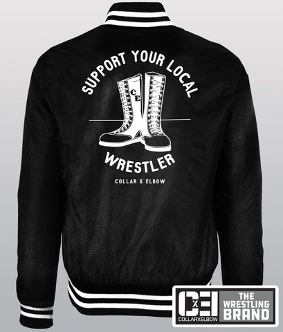 Support Your Local Wrestler - Bomber Jacket
