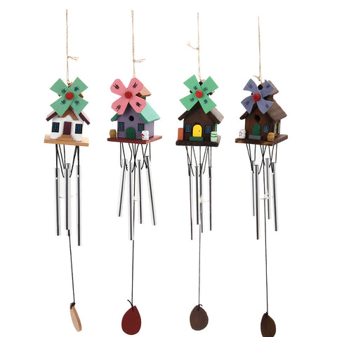 Windmill Copper Wind Chimes