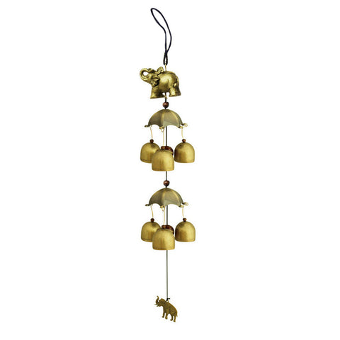 Lotus Fish 6 Pure Copper Bells