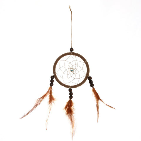 Brown Feather Dreamcatcher