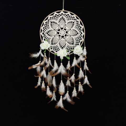 """Lace"" Dream Catcher Wind Chime"