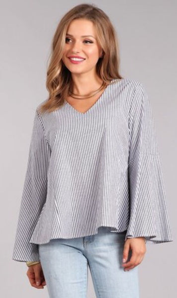 Bat Sleeve Top