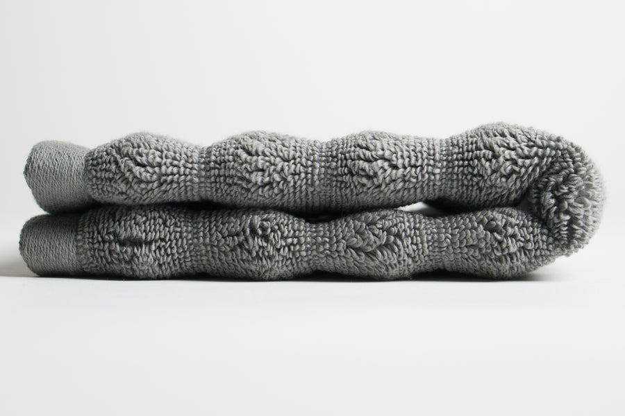 Grey Nutrl Washcloth Towel
