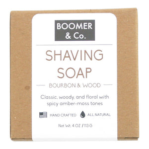 Bourbon & Sandalwood Shaving Soap Bar