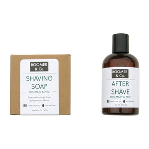 Rosemary & Mint Shaving Kit
