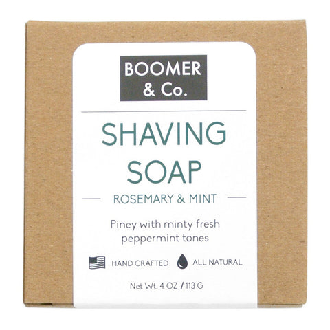 Rosemary & Mint Shaving Soap Bar