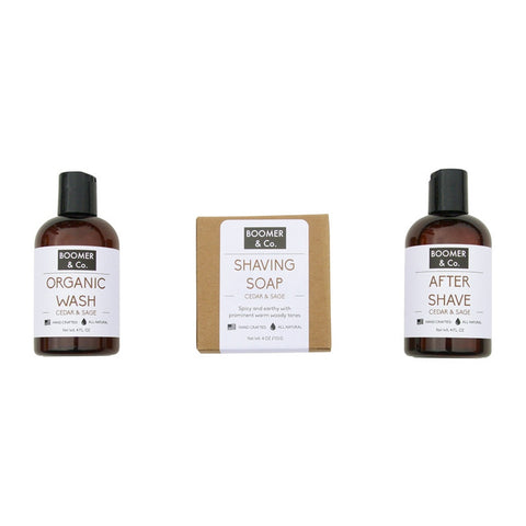 Cedar & Sage Men's Grooming Kit