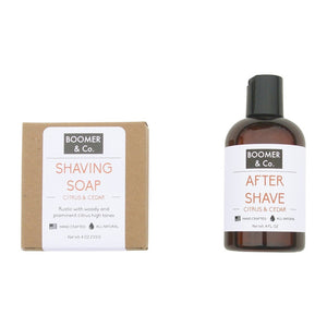Citrus & Cedar Shaving Kit