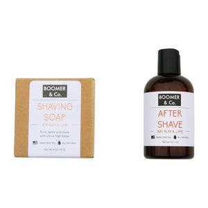 Bay Rum & Lime Shaving Kit