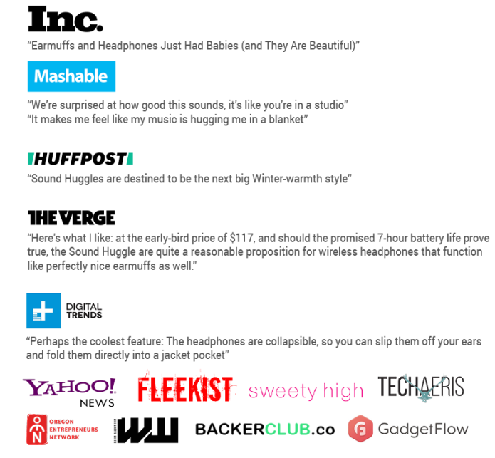 Sound Huggle Featured on Mashable, The Verge, Digital Trends, Inc.
