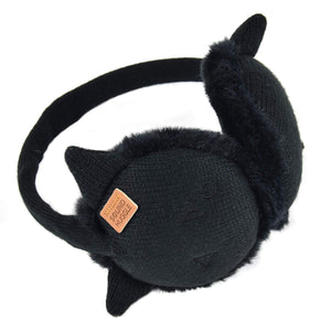 Sound Huggle Bluetooth Earmuff Headphones - Black Cat