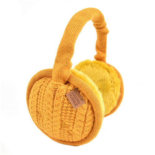 Sound Huggle Bluetooth Earmuffs Headphones - Marigold