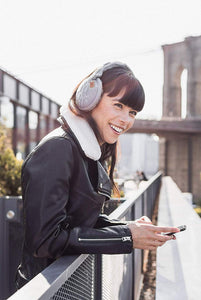Sound Huggle Bluetooth Earmuff Headphones - Black