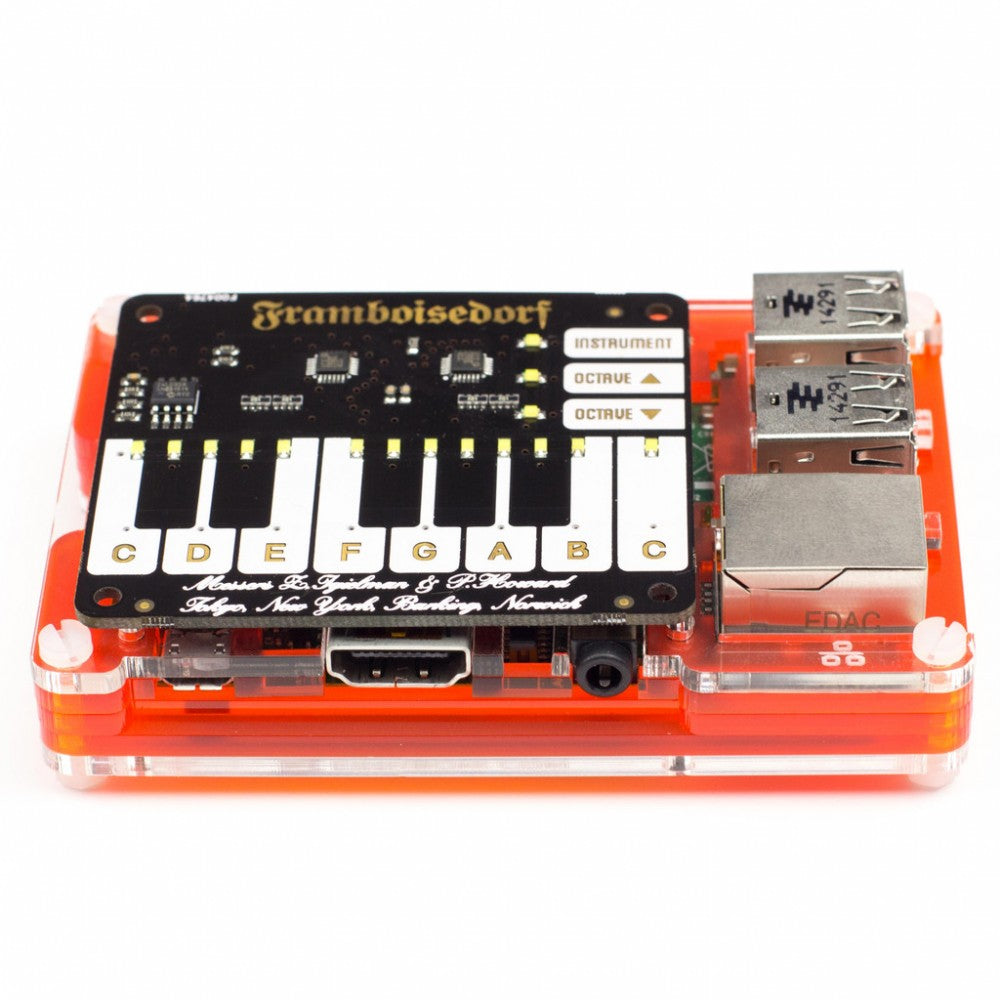 Pimoroni Piano HAT with Pi