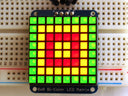 Adafruit Bicolor LED Square Pixel Matrix