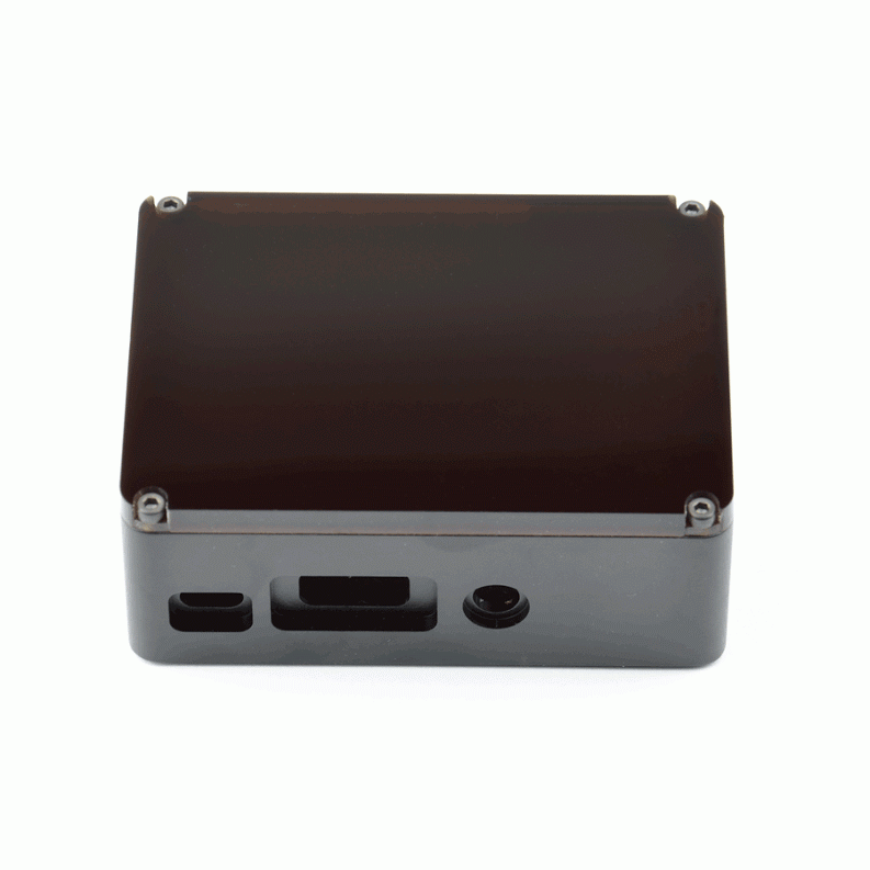 anidées Unibody Black Case HDMI Side