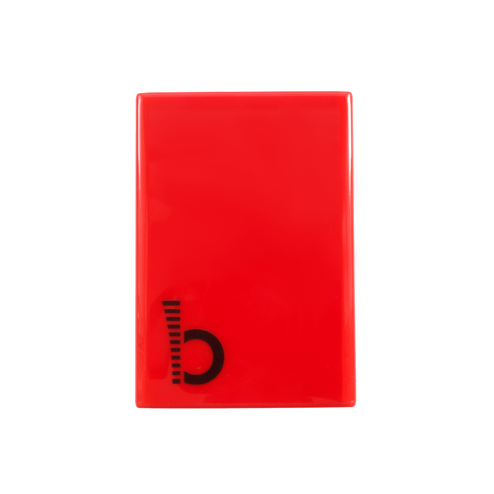 JustBoom Digi HAT Case in red