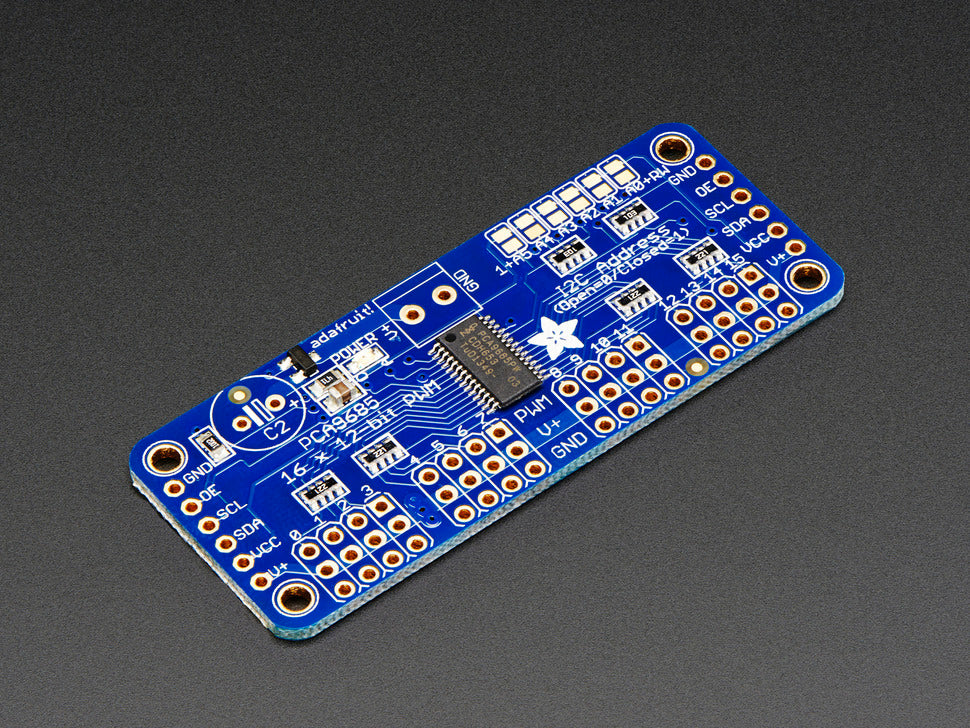 815-Adafruit 16-Channel 12-Bit Servo Driver