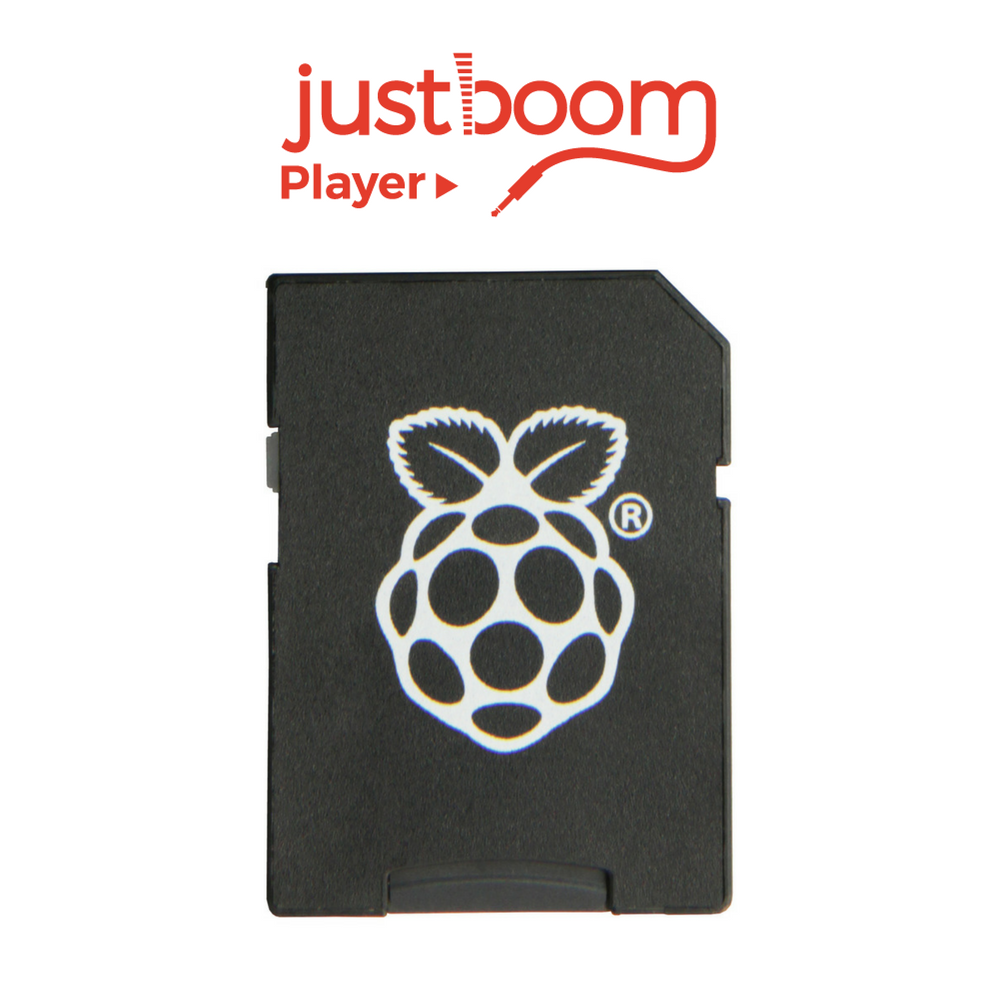 JustBoom Player SD Card